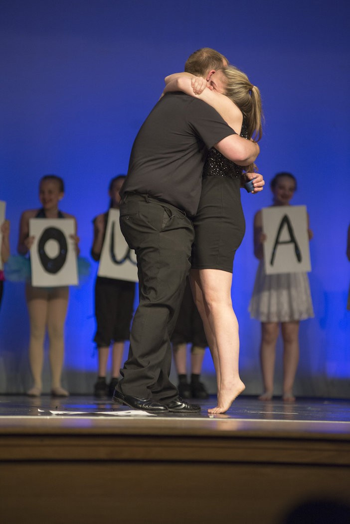 Surprise Proposal at Dance Teacher's Recital