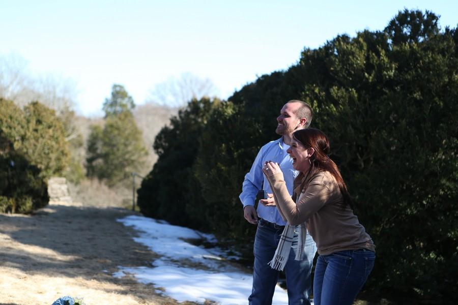 Marriage Proposal at Nashville's Botanical Gardens4_low
