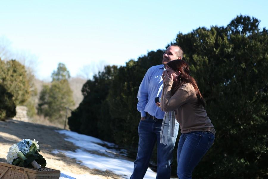 Marriage Proposal at Nashville's Botanical Gardens6_low