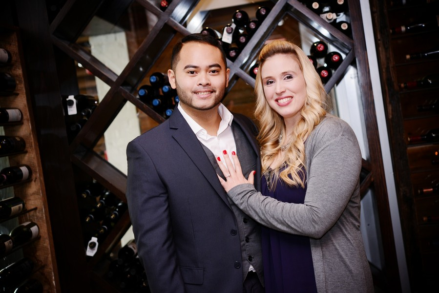 Image 1 of Rajh and Alyssa's Puzzle Piece Proposal