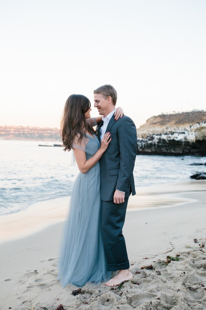Romantic La Jolla Proposal at Sunset_92