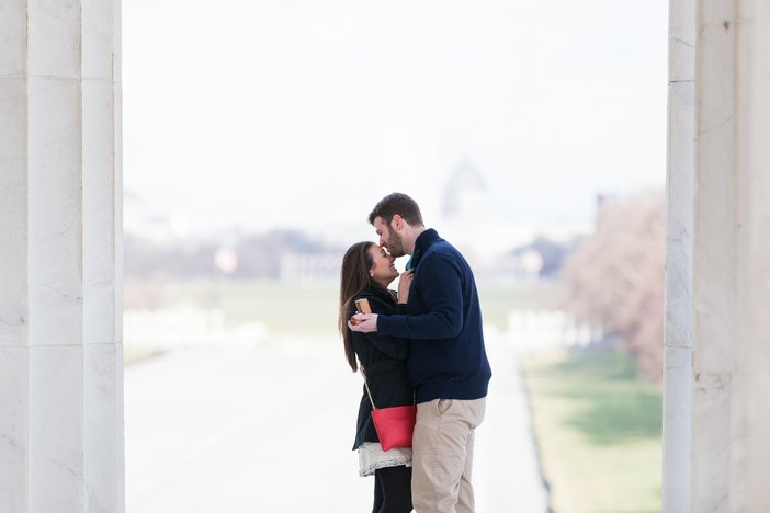 Image 5 of Sharon and Daniel's Timeless Marriage Proposal in DC