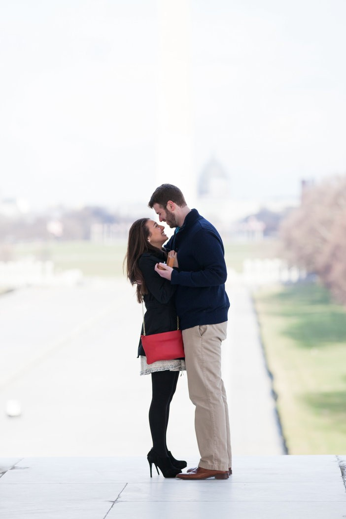 Image 6 of Sharon and Daniel's Timeless Marriage Proposal in DC