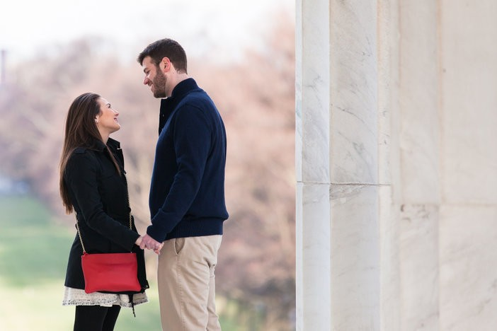Image 1 of Sharon and Daniel's Timeless Marriage Proposal in DC