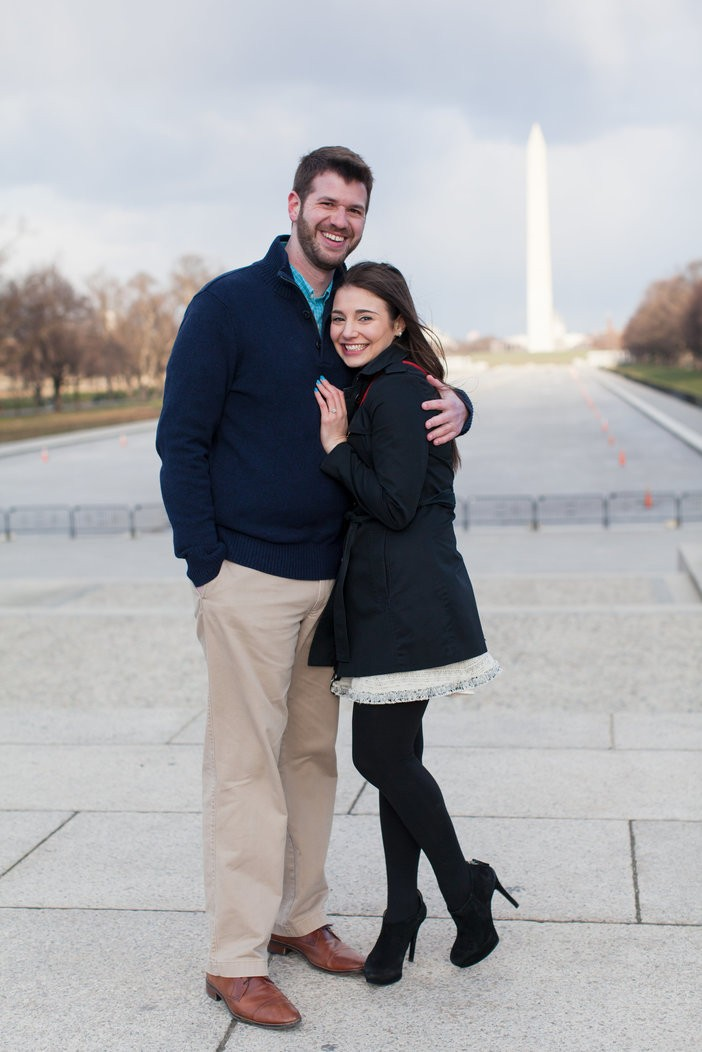 Image 8 of Sharon and Daniel's Timeless Marriage Proposal in DC