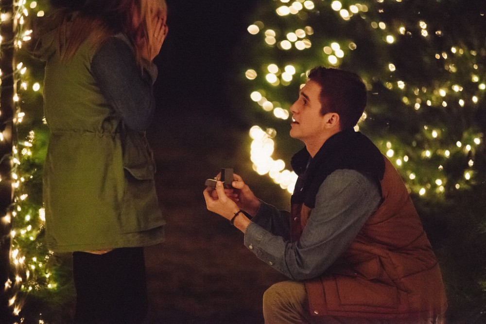 Image 6 of Mikaela and Nolan's Most Epic Christmas Proposal Ever