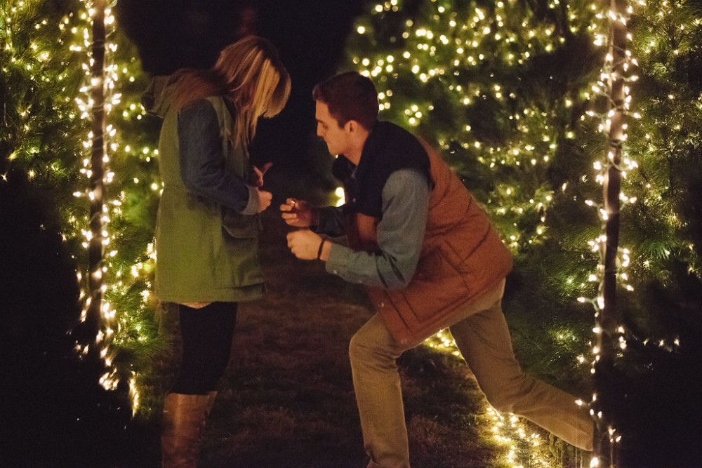 Image 5 of Mikaela and Nolan's Most Epic Christmas Proposal Ever