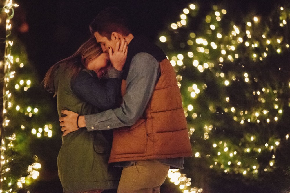 Image 7 of Mikaela and Nolan's Most Epic Christmas Proposal Ever