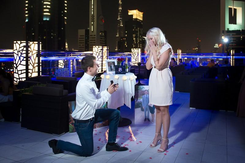 Image 4 of Lauren and David's Marriage Proposal in Dubai