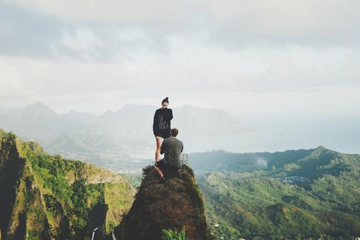 Hiking Marriage Proposal Idea