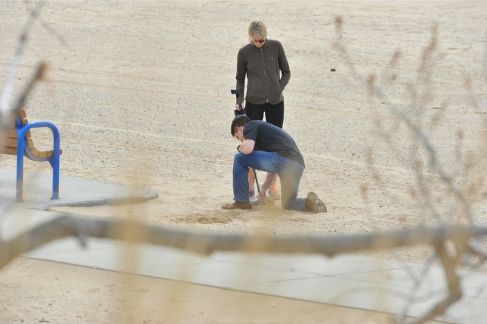Image 5 of Metal Detector finds Engagement Ring for Surprise Marriage Proposal