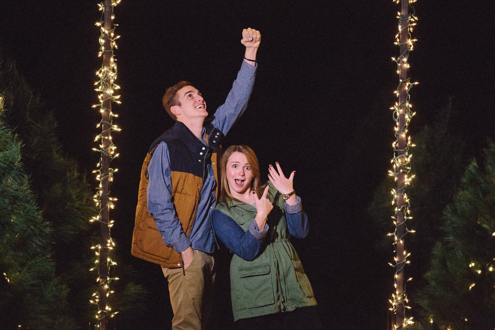 Image 16 of Mikaela and Nolan's Most Epic Christmas Proposal Ever