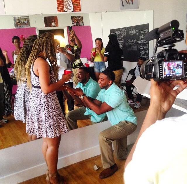 Proposal Ideas grand opening of brides dance studio