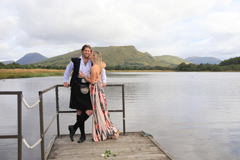 Image 1 of Robyn and Marc's Scotland Proposal