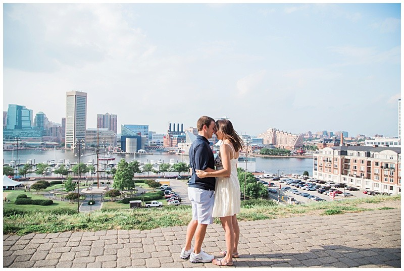 Image 3 of Natalie and Josh's Marriage Proposal on Federal Hill