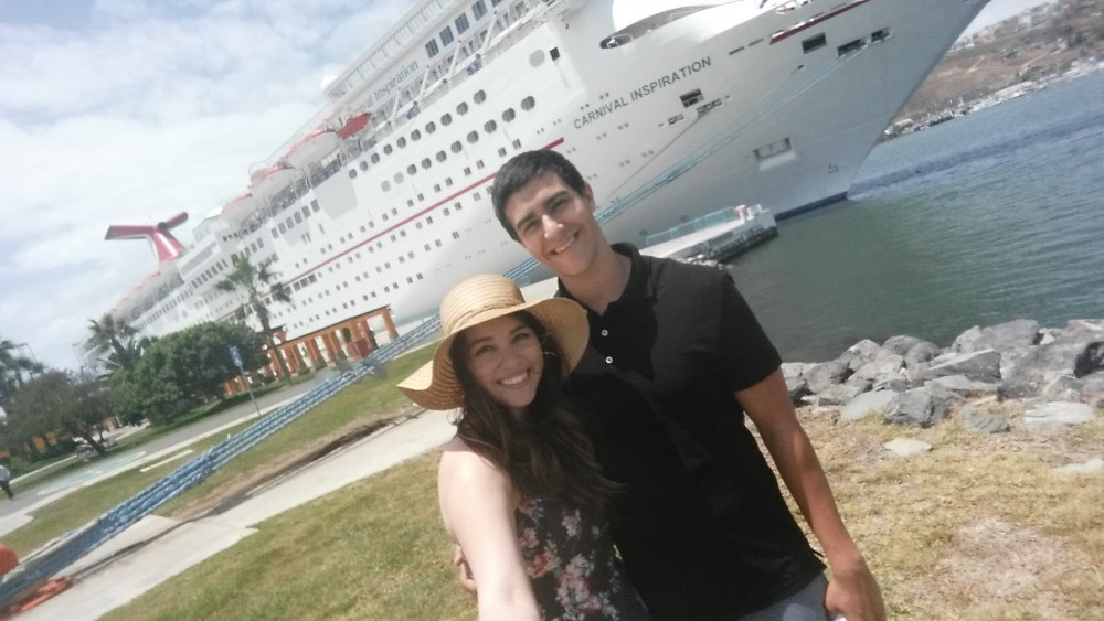 Marriage Proposal on a Carnival Cruise