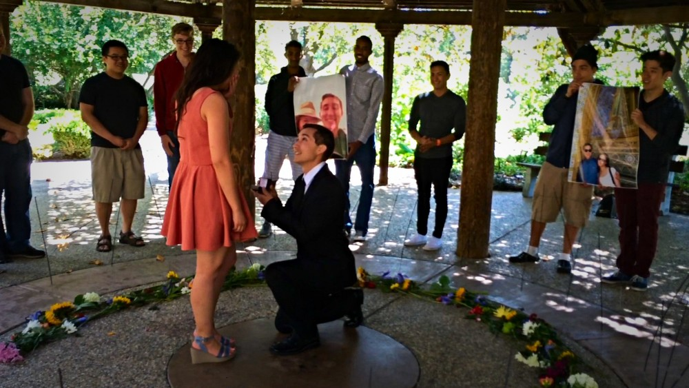 Acapella Surprise Marriage Proposal at Gazebo_2