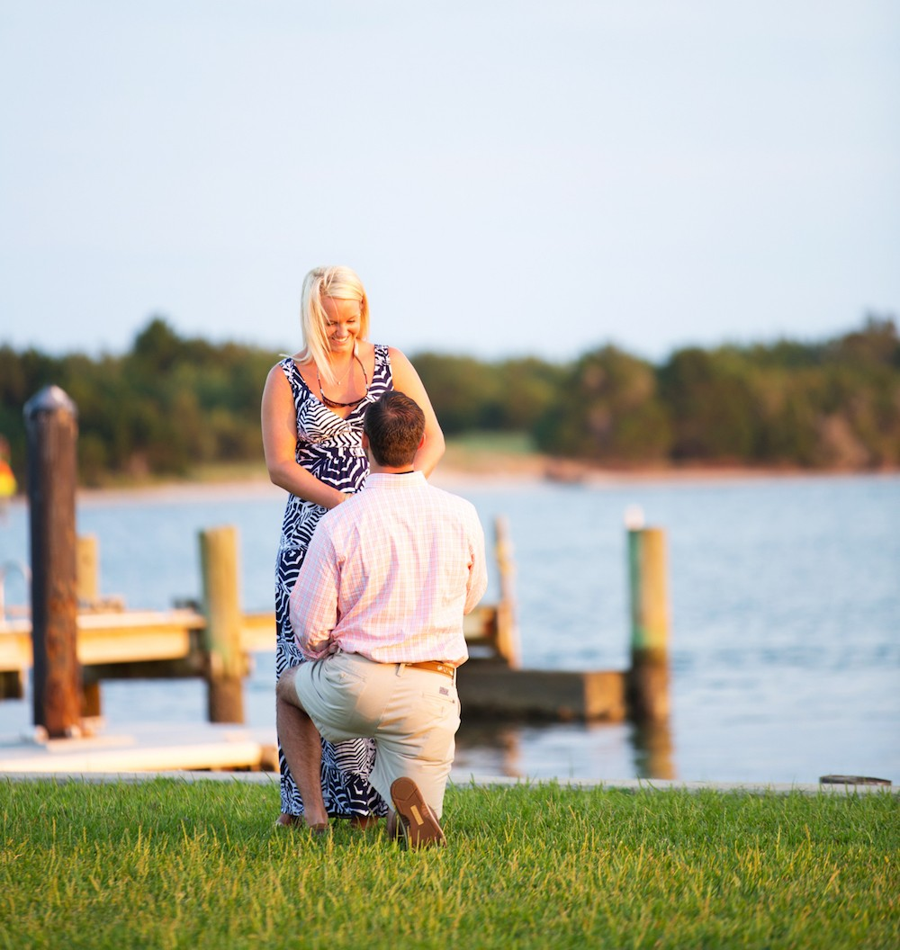Image 6 of Andrew and Brooke's Surprise Marriage Proposal in Beaufort