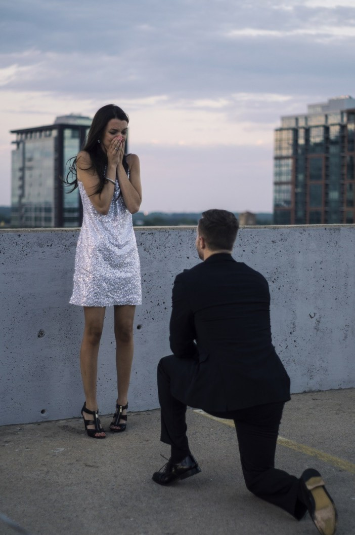 Image 19 of 50 of Hands-Down the BEST Proposal Reaction Photos