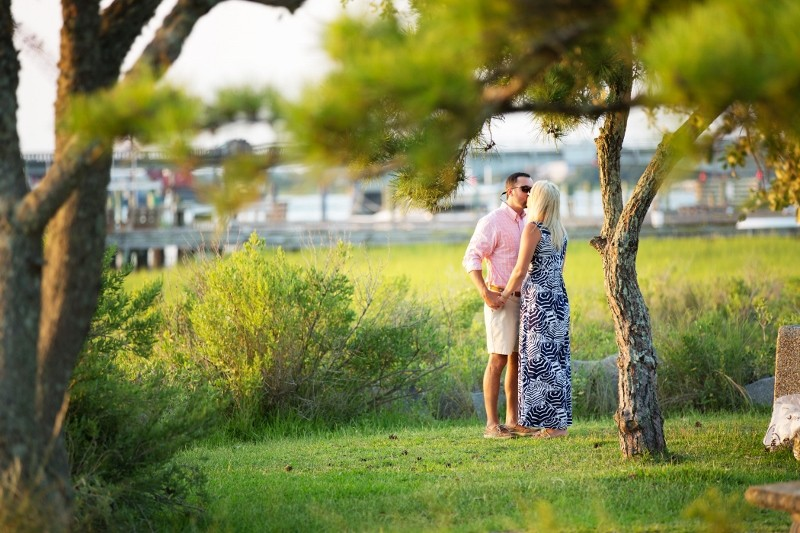 Image 3 of Andrew and Brooke's Surprise Marriage Proposal in Beaufort