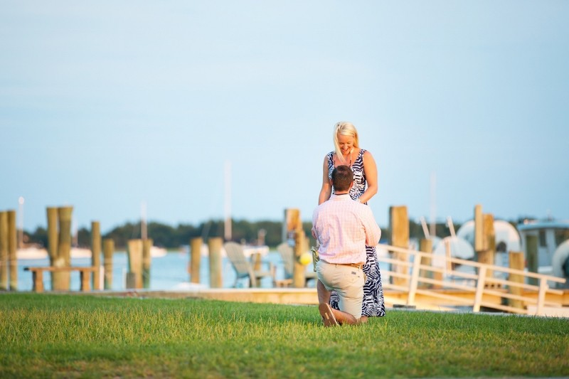 Image 4 of Andrew and Brooke's Surprise Marriage Proposal in Beaufort