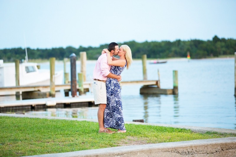 Image 1 of Andrew and Brooke's Surprise Marriage Proposal in Beaufort