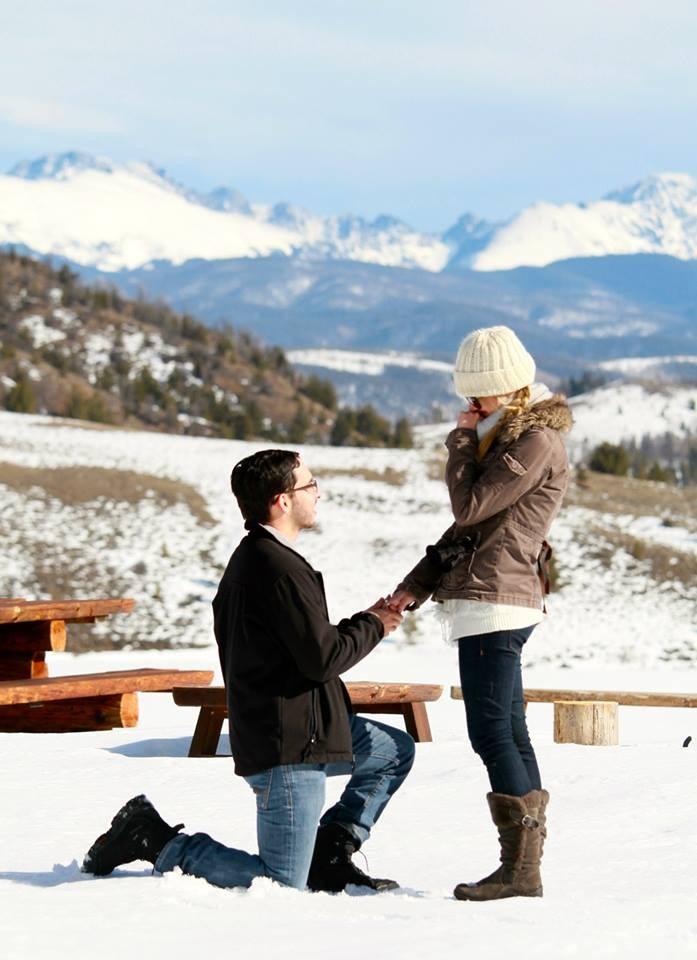 Image 2 of Sarah and Rodolfo Snowy Ranch Proposal