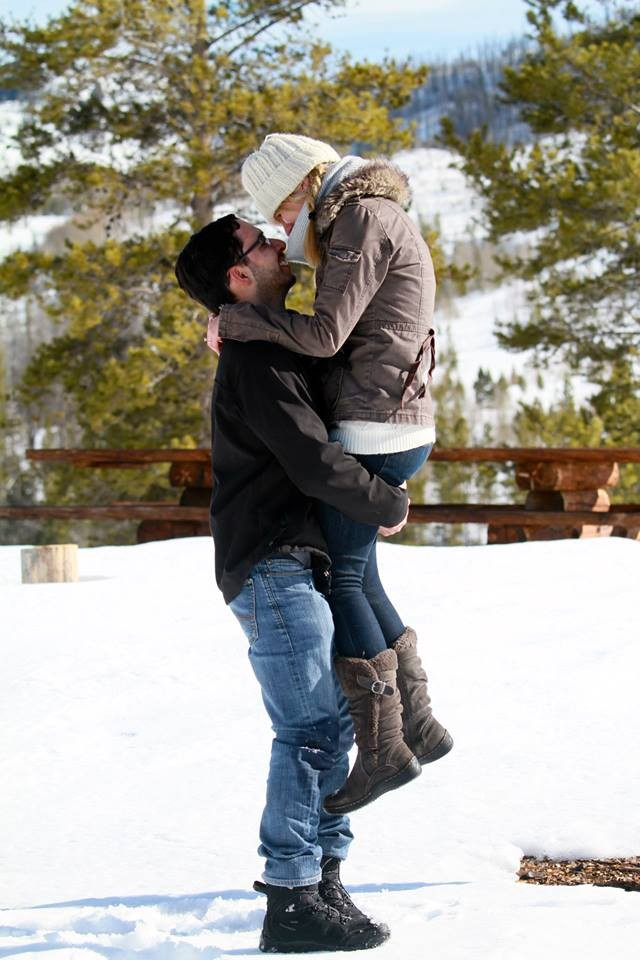 Image 4 of Sarah and Rodolfo Snowy Ranch Proposal