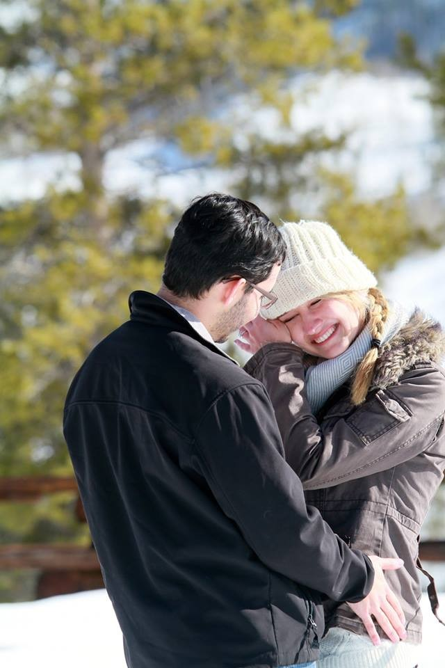 Image 5 of Sarah and Rodolfo Snowy Ranch Proposal