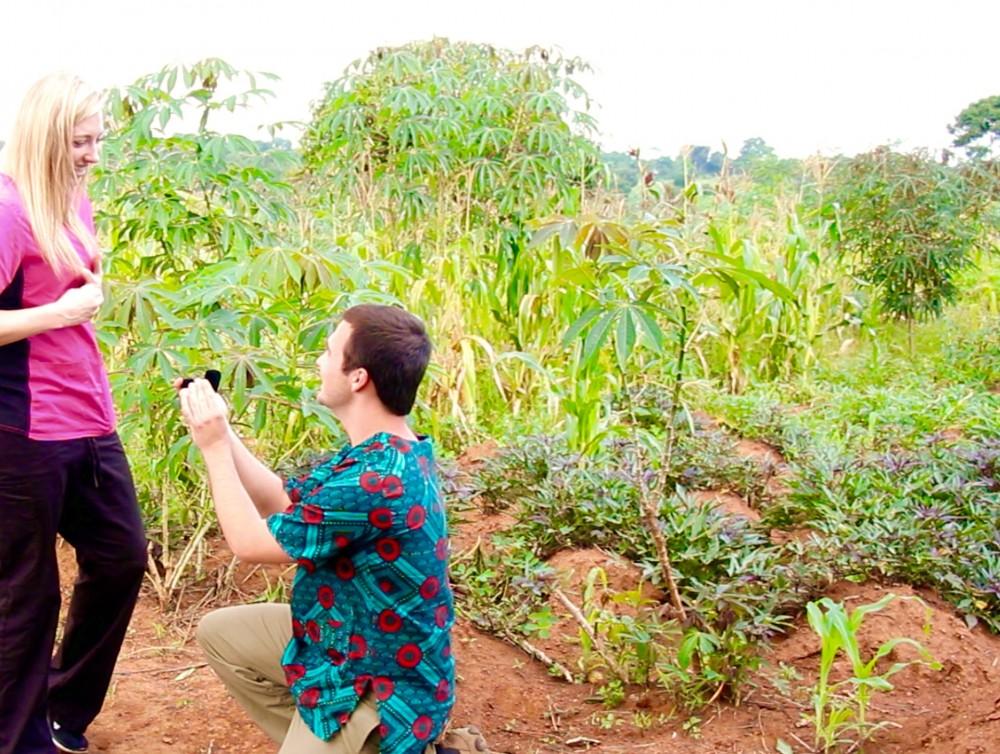 Image 4 of Katherine and Matthew's Sweet Proposal in Uganda