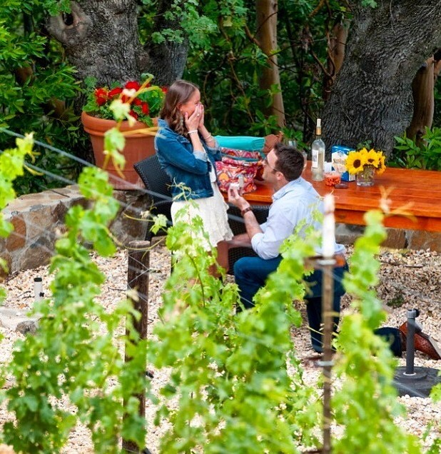 Marriage Proposal Ideas in St. Helena, California