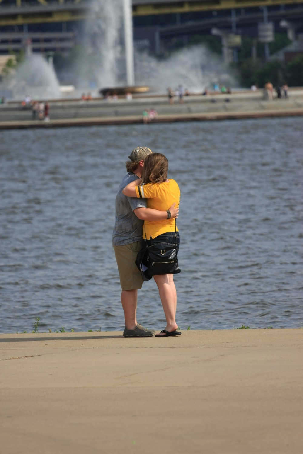 Marriage Proposal at Heinz Field in Pittsburgh