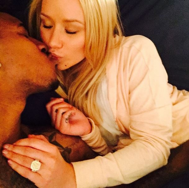 Image 2 of Iggy Azalea is Engaged with a Fancy Diamond!