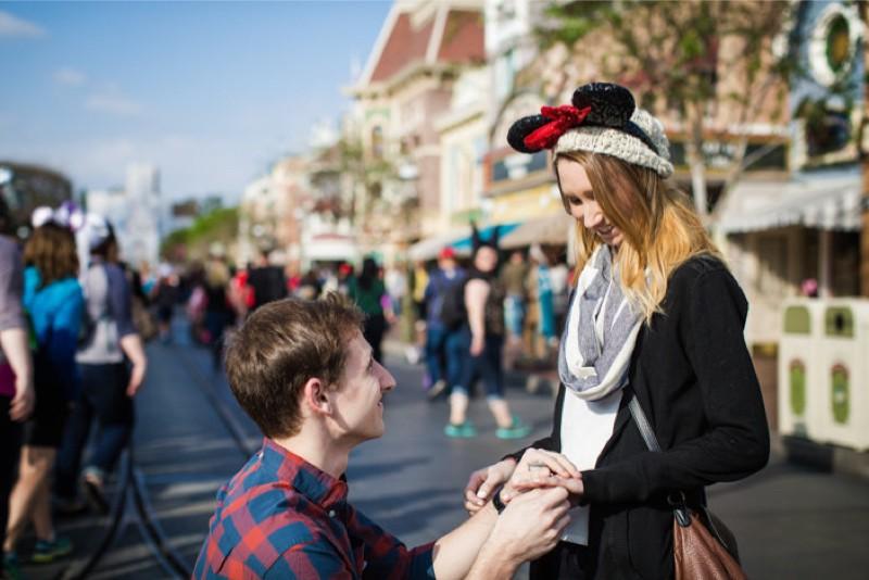 Image 5 of Jane and Patrick's Surprise Disneyland Marriage Proposal