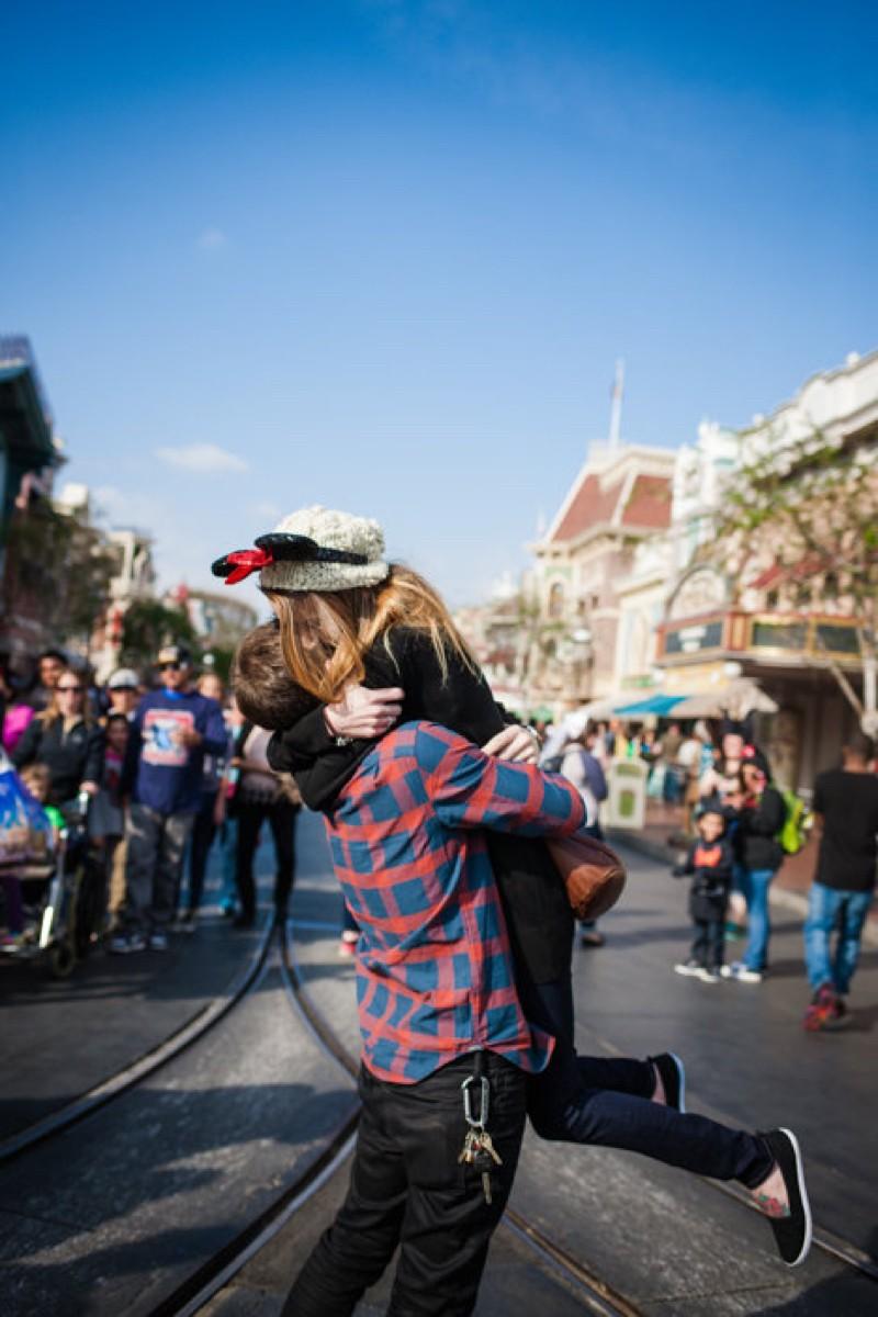 Image 1 of Jane and Patrick's Surprise Disneyland Marriage Proposal