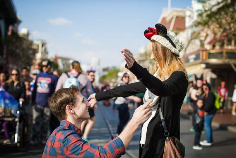 Image 7 of Jane and Patrick's Surprise Disneyland Marriage Proposal
