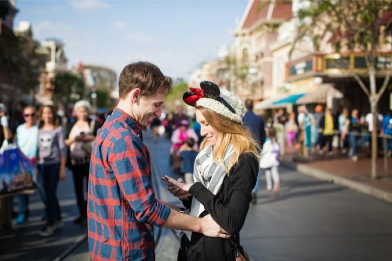 Image 8 of Jane and Patrick's Surprise Disneyland Marriage Proposal