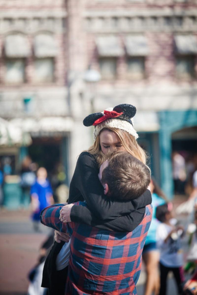 Image 9 of Jane and Patrick's Surprise Disneyland Marriage Proposal