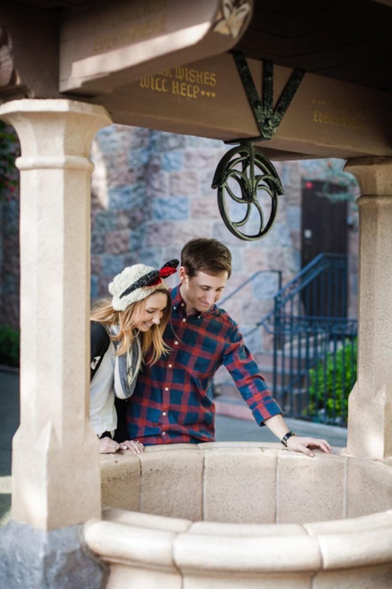 Image 2 of Jane and Patrick's Surprise Disneyland Marriage Proposal