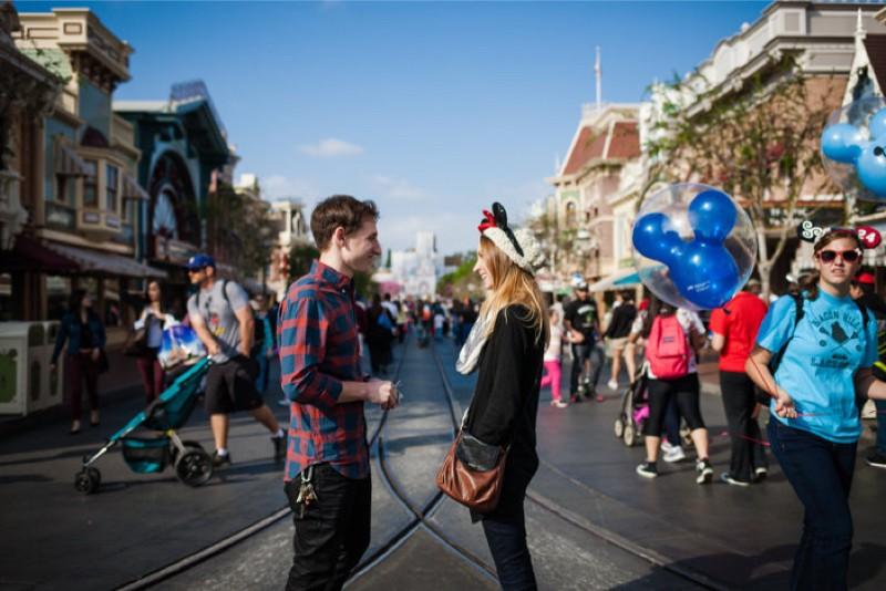 Image 3 of Jane and Patrick's Surprise Disneyland Marriage Proposal