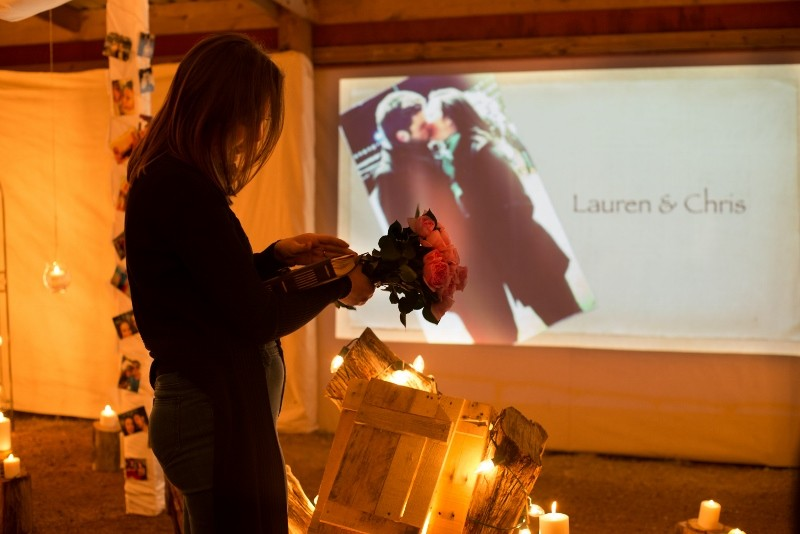 Image 6 of Lauren and Chris' Marriage Proposal Video in Texas