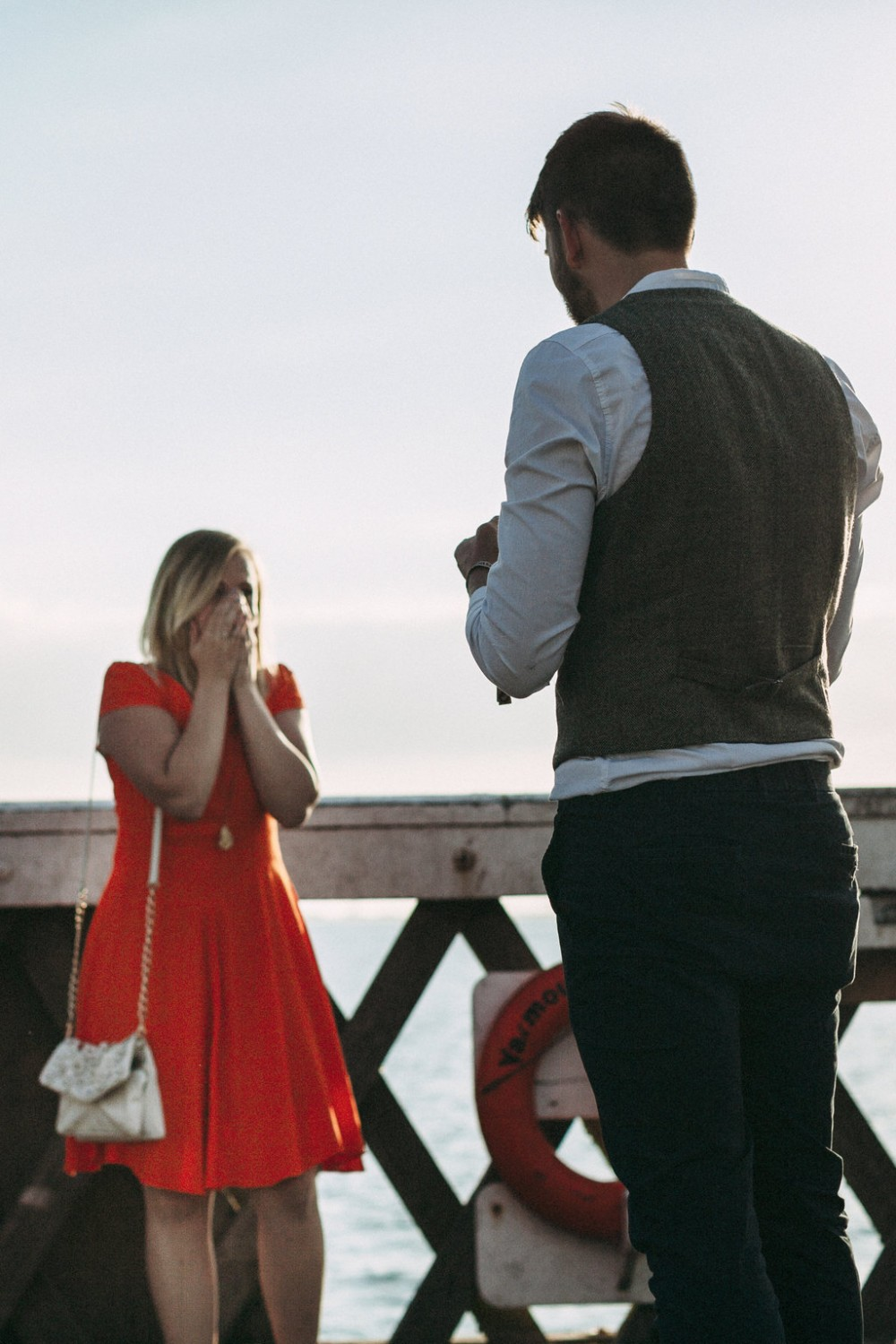 Image 9 of Lou and Tim's Adorable Proposal Video