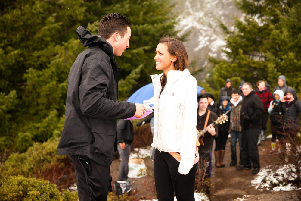 Image 3 of Houston and Harley's Surprise Mountain-Top Marriage Proposal