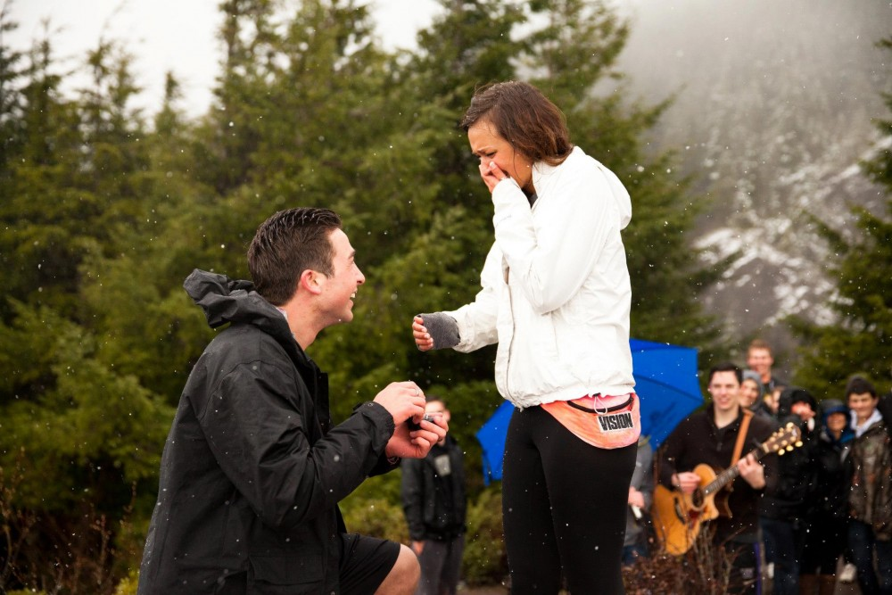 Image 5 of Houston and Harley's Surprise Mountain-Top Marriage Proposal