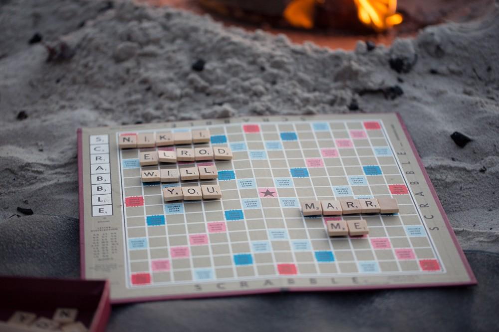 Image 2 of Nikki and Evan's Scrabble Proposal