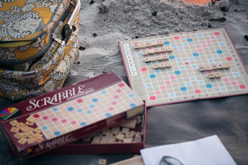 Image 3 of Nikki and Evan's Scrabble Proposal