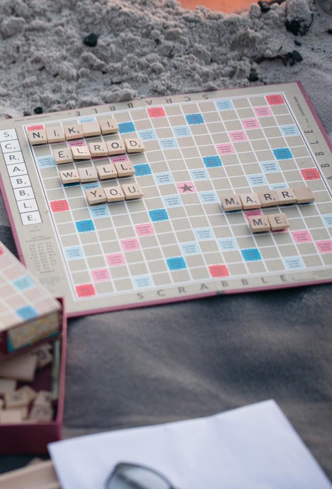 Image 4 of Nikki and Evan's Scrabble Proposal