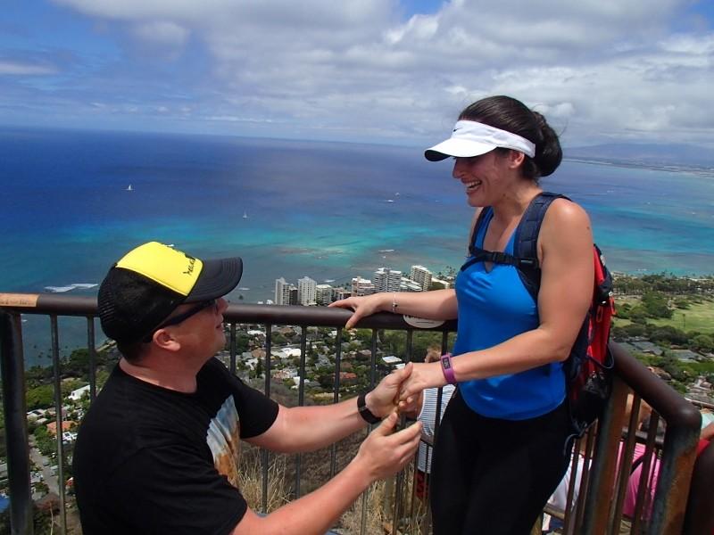 Image 2 of Deborah and Brandon's Surprise Marriage Proposal in Hawaii