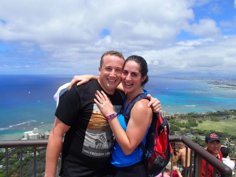 Image 1 of Deborah and Brandon's Surprise Marriage Proposal in Hawaii