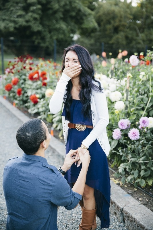 Kayce and isaiah 39 s photoshoot surprise marriage proposal for Surprise engagement photo shoot